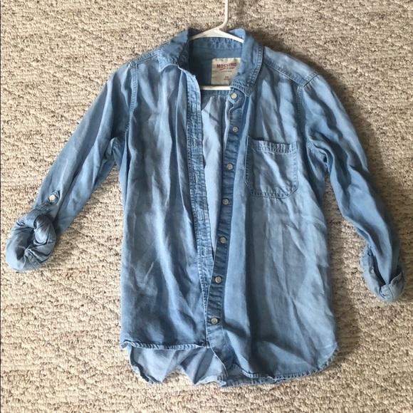 Mossimo Supply Co. Sweaters - denim cardigan